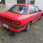 MAZDA 323 1,6 aut, sedaan, luukp. 1985-1992